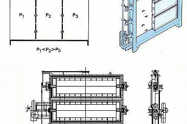 电动单挡板脱硫风门